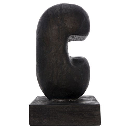 Juno Sculpture, Black Marble