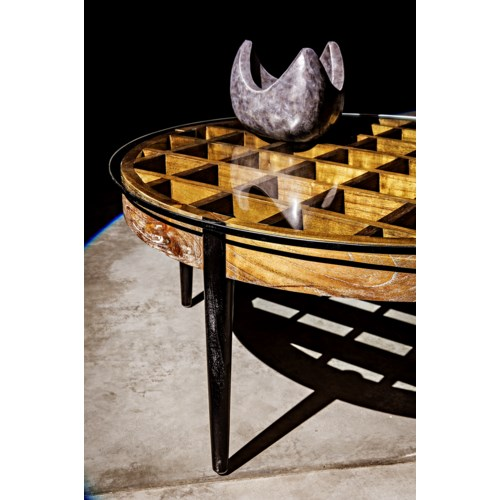 Crown Object, Black Marble