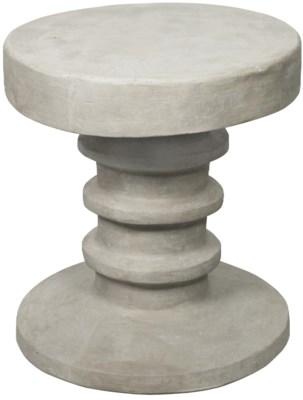 Gir Side Table, Fiber Cement