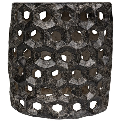Joan Stool, Black Fiber Cement