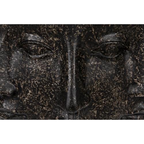 Multi-Face Stool, Black Fiber Cement