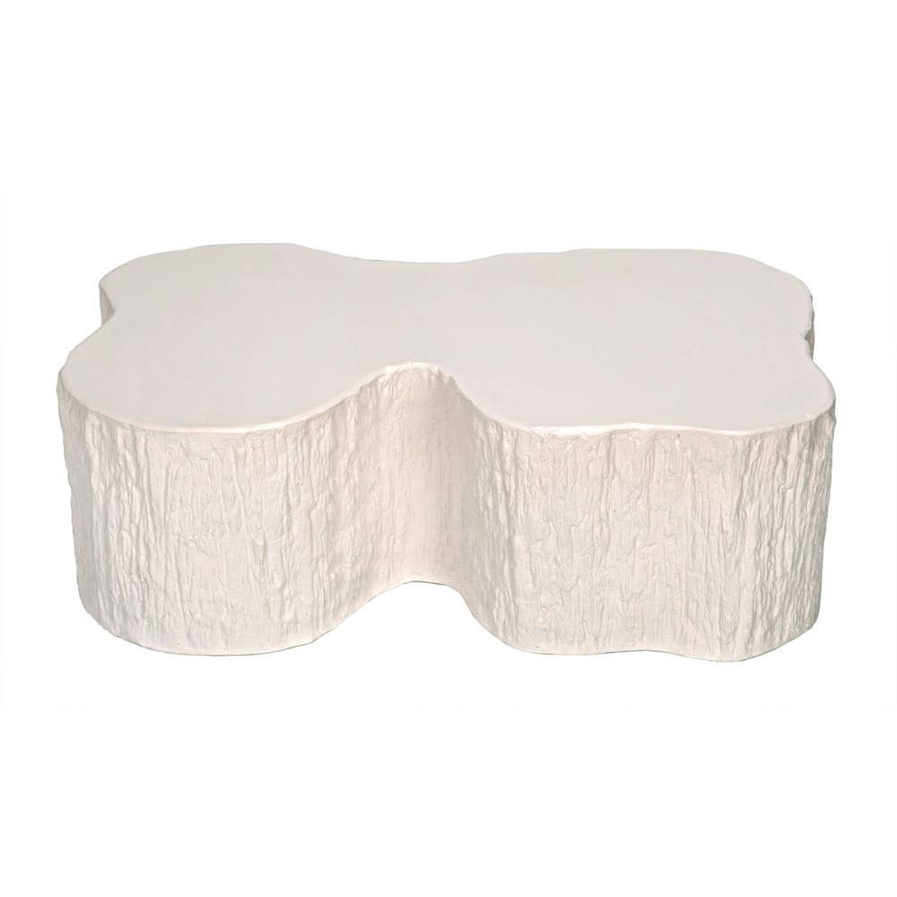 Noah Coffee Table, White Fiber