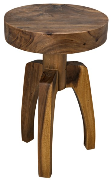 Troy Side Table, Munggur Wood
