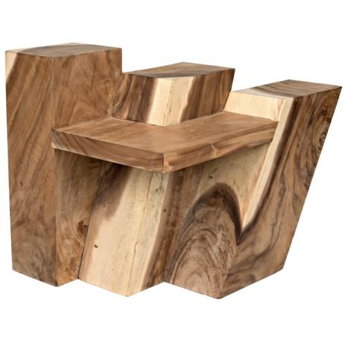 Acantilado Side Table, Mungur