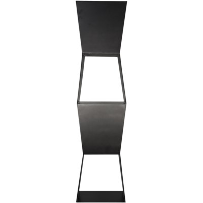 Not-Square Bookcase, Metal
