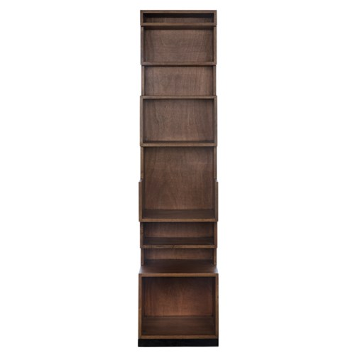 Duke Bookcase, Dark Walnut
