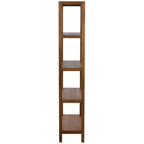 SL10 Bookcase, Gold Teak