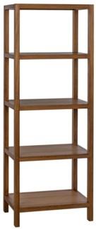 SL10 Bookcase, Gold Teak
