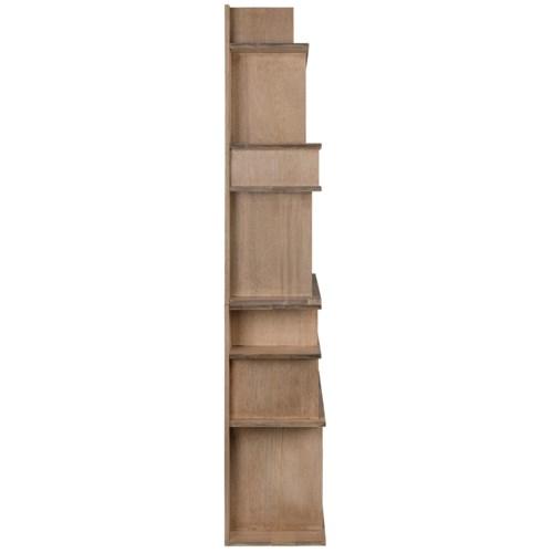 Rashi Bookcase, Washed Walnut