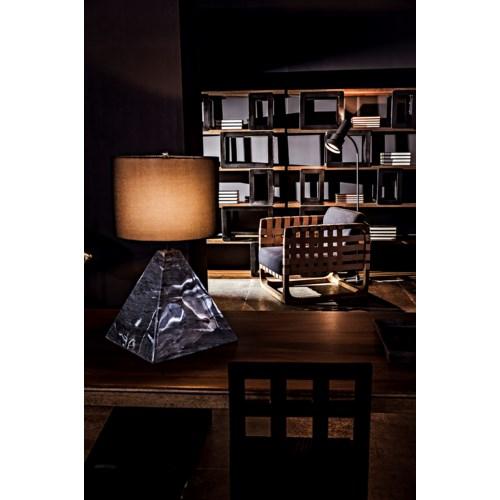 Fargo Bookcase, Dark Walnut/ Metal