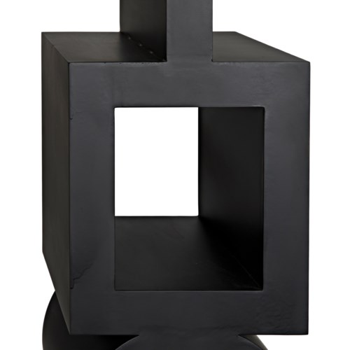 Koko Bookcase, Black Metal