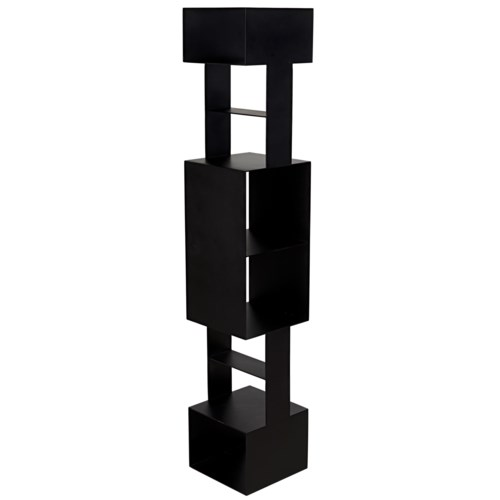 Diem Bookcase, Black Metal