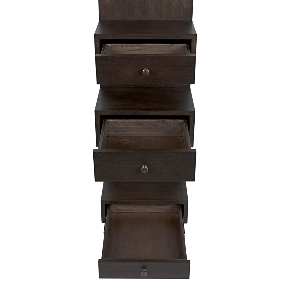 Honor Bookshelf, Ebony Walnut