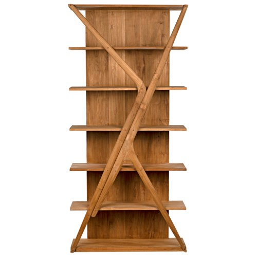 Vetra Bookcase, Teak