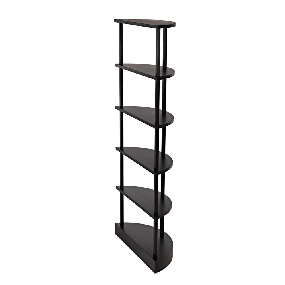 spago Bookcase, Black Metal