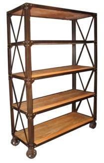 Z 802 Bookshelf with Wheels