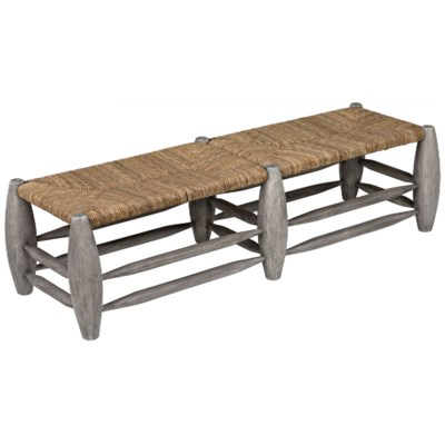 Ascona Bench, Distressed Grey