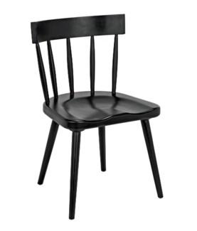 QS Esme Chair, Hand Rubbed Black