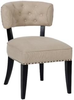 Z Alena Chair, Hand Rubbed Black