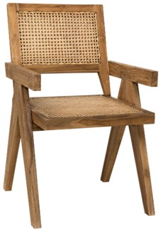 QS Jude Chair, Teak with Caning
