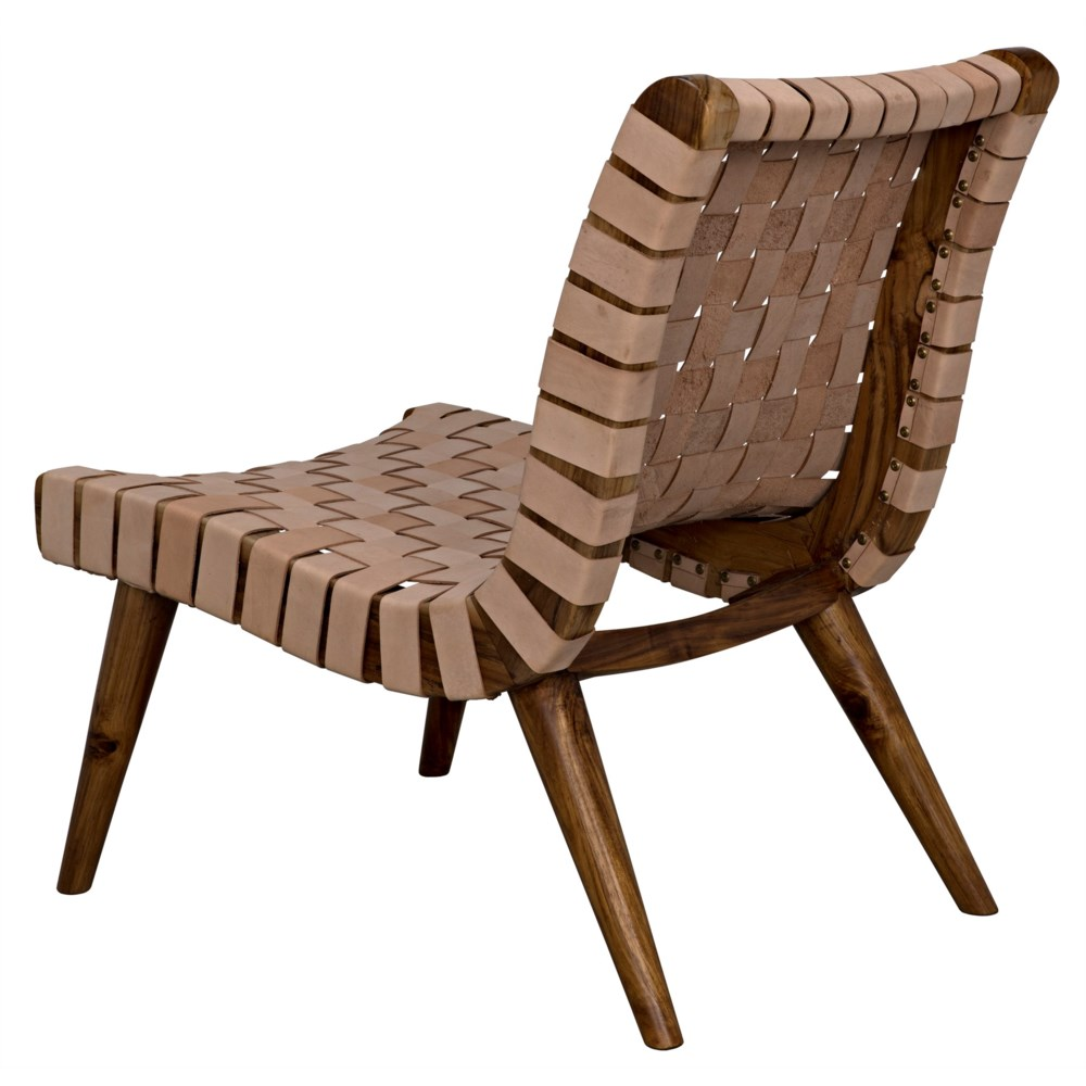 Cohen Chair, Teak and Leather