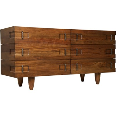 David Sideboard, Dark Walnut