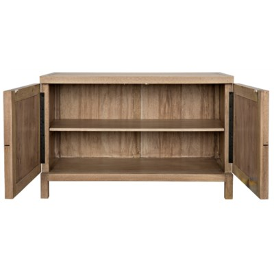Quadrant 2 Door Sideboard, Washed Walnut