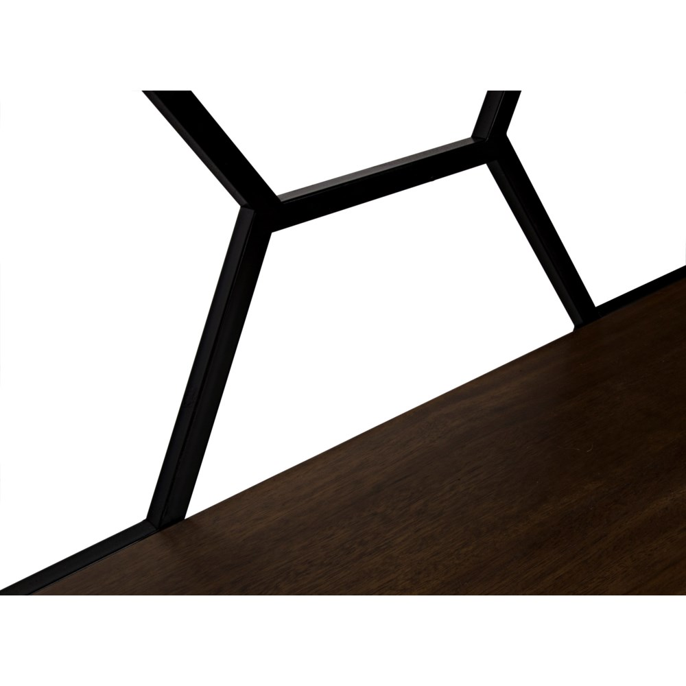 Tariq Console with Black Steel