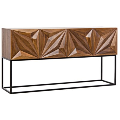 Zurich Console, Dark Walnut