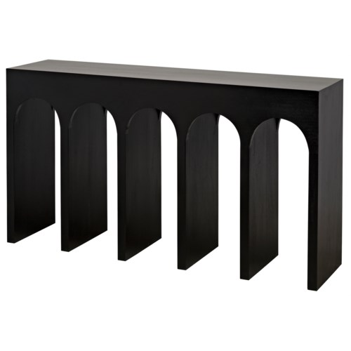 Bridge Console, Hand Rubbed Black