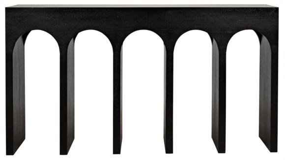 Bridge Console, Hand Rubbed Black