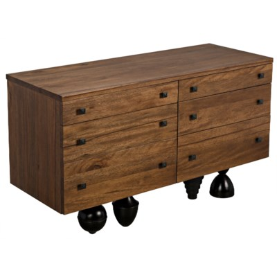 Conqustador Sideboard, Dark Walnut