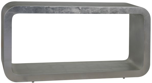 Lilly Console, Silver Leaf