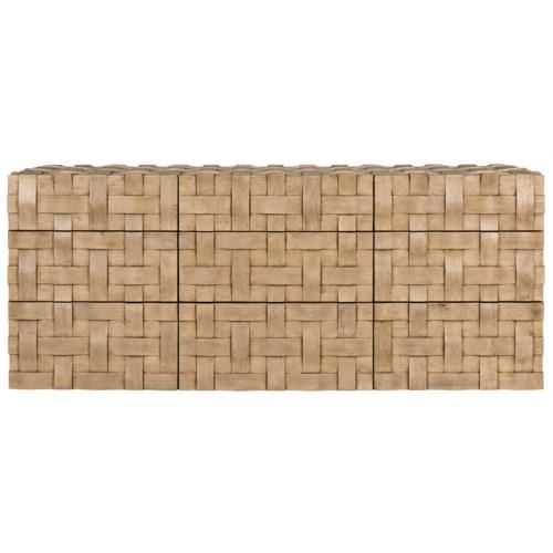 Weave Sideboard, Bleached Walnut