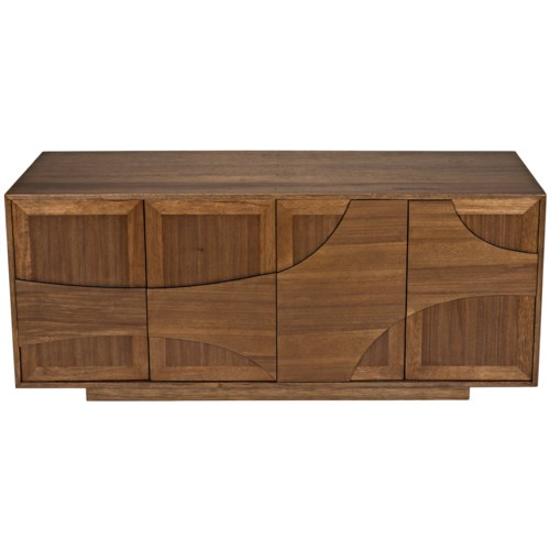 Collage Sideboard, Dark Walnut