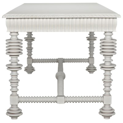 QS Portuguese Desk, Solid White