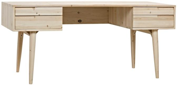 Z Mateo Desk, Bleached, Old Wood