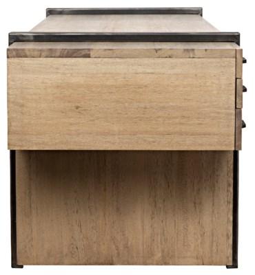 Bartholomieu Desk Washed Walnut Walnut
