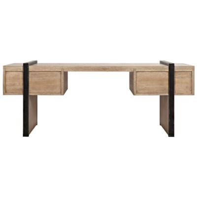 Bartholomieu Desk, Washed Walnut, Walnut