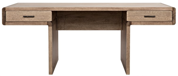 Degas Desk, Washed Walnut