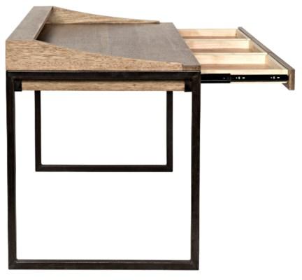 Ling Desk Washed Walnut