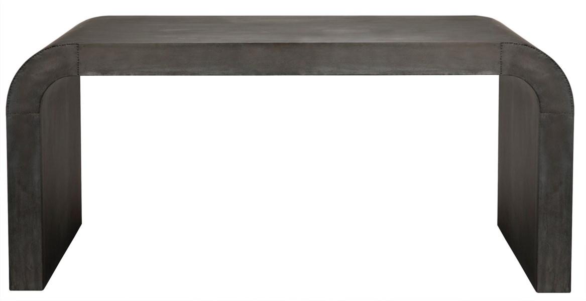 Lazar Desk, Plain Zinc
