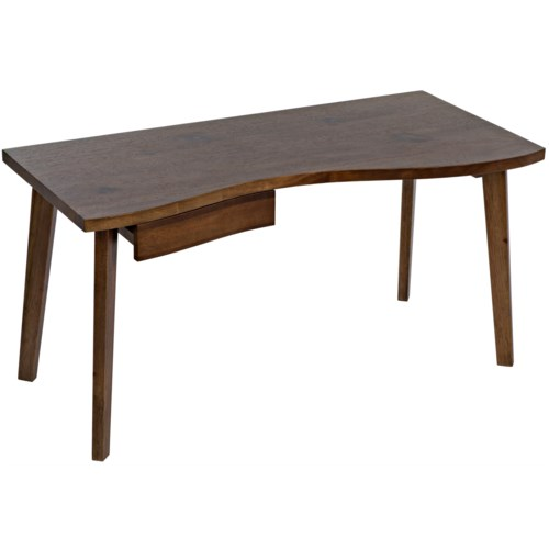 Adonis Desk, Dark Walnut