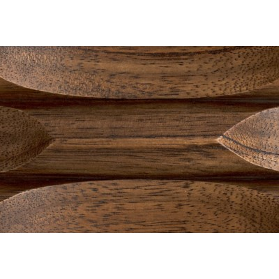 Creo Desk W/Stone Top, Dark Walnut