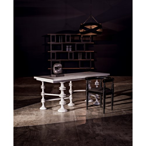 Creo Desk, Distressed Grey