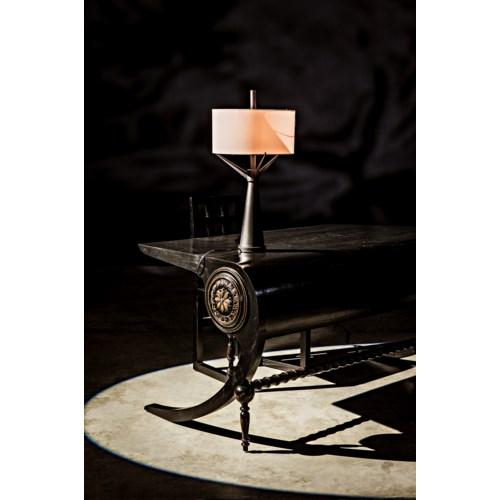 Mephistopheles Desk, HB w/Light Brown Trim