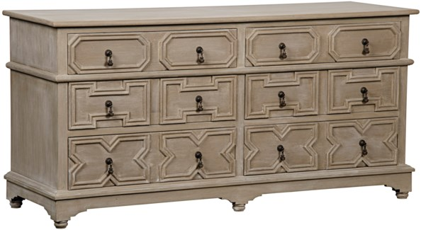 Watson 6 Drawer Dresser, Weathered