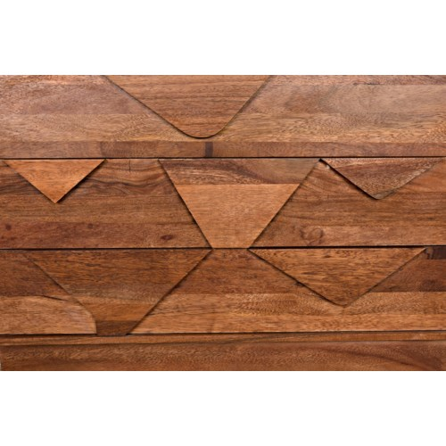 Cascata Chest, Dark Walnut