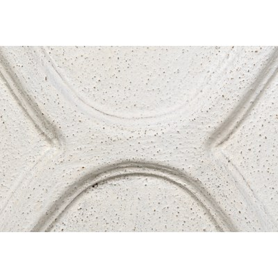 Giza 4 Drawer Dresser, White Weathered