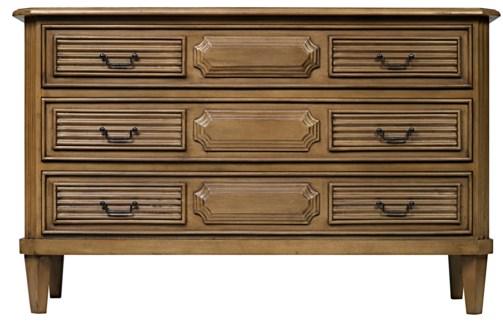 Z Radfort Dresser, Saddle Brown